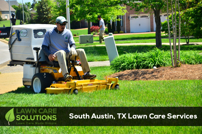 Lawn Care And Lawn Mowing Service In South Austin